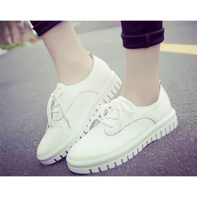 ★★★韓版皮質綁帶鞋子