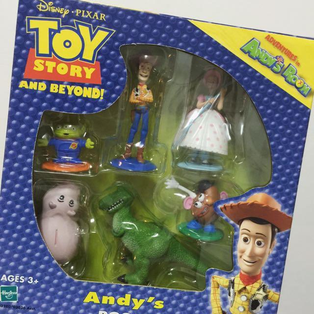 玩具總動員 絕版 安迪房間