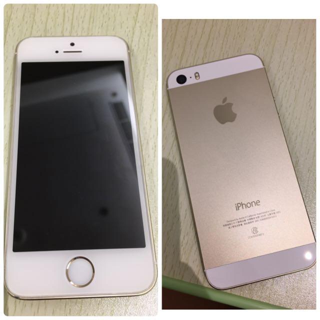 iPhone 5S 32G 金色(外觀近全新)