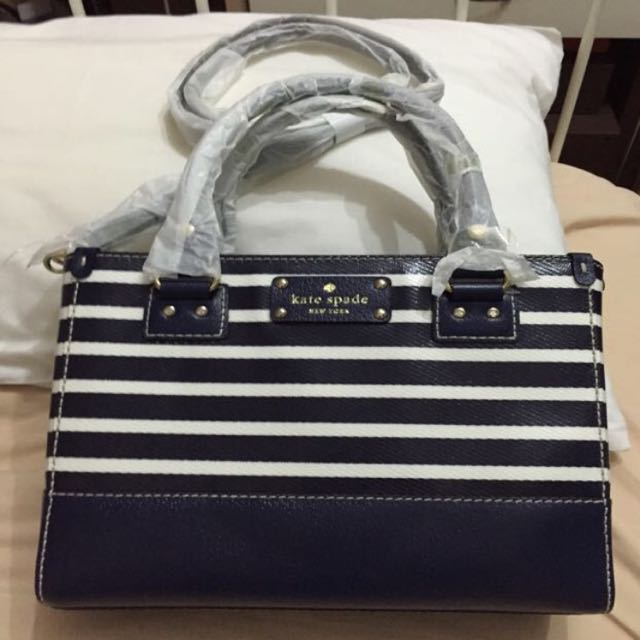 Kate Spade Wellesley Fabric Stripe Small Quinn