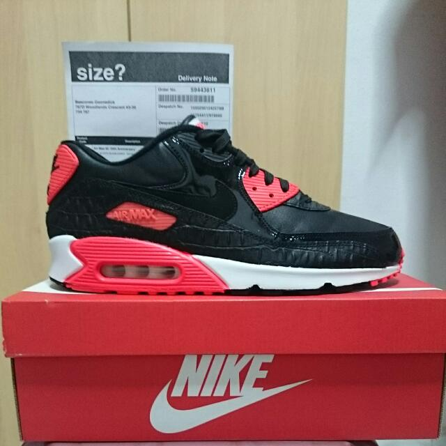 Sale!!! Nike Air Max 90 Anniversary Infrared CROCS