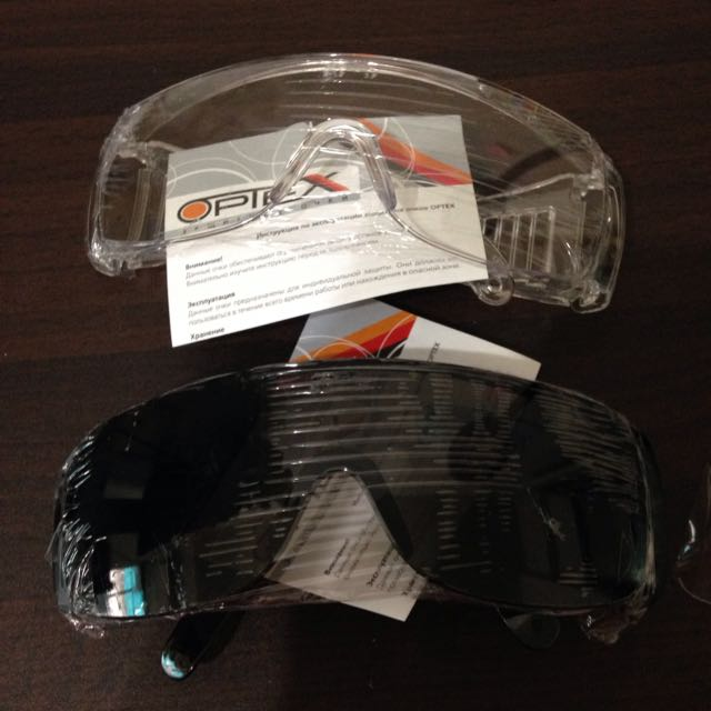 Optex Safety Glasses 護目鏡