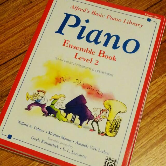 NEW Piano Ensemble Book