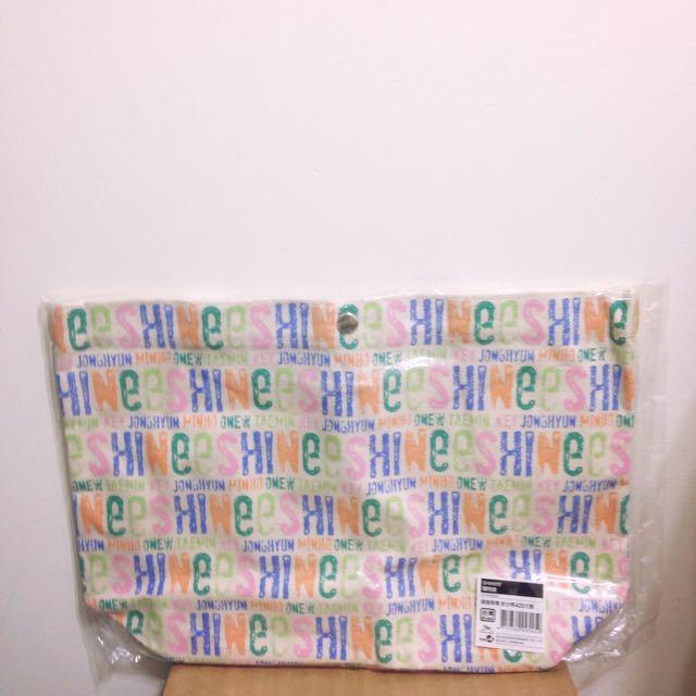 SHINee 官方帆布購物袋