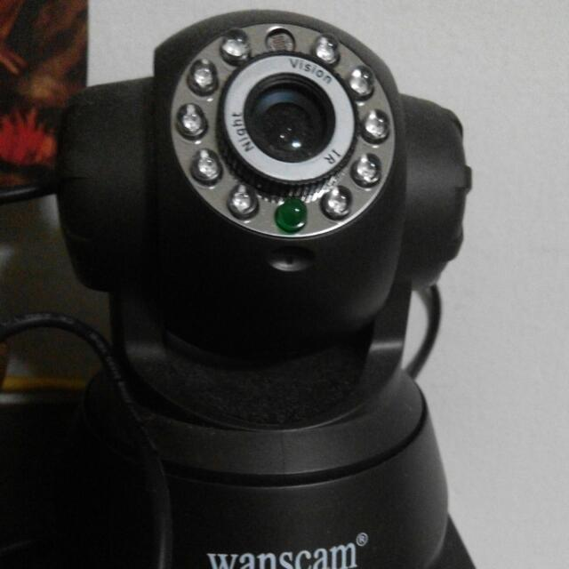 [RESERVED] Used WANSCAM Wireless Ip Camera