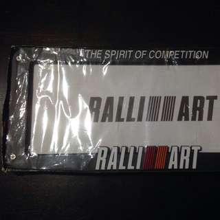 Ralliart Frame Plate