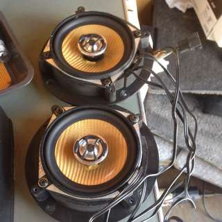 Door Speaker Carrozzeria With Crossover For Kancil