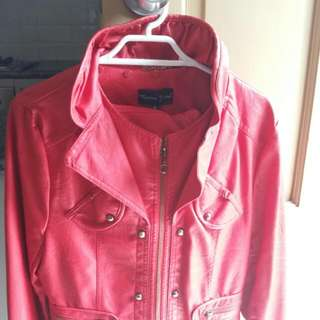Beautiful red Jacket By Monaco Jeans