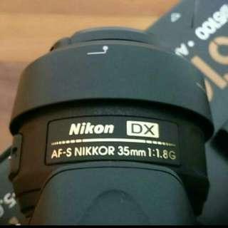 (Reserved) Nikon 35mm F1.8