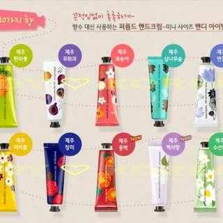 ♡ innisfree ♡ 💐濟州島系列保濕護手霜💐 30ml 10種味道可選 👉歡迎詢價👈 #JOY愛韓