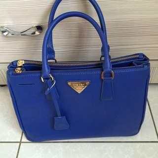 寶藍色 手提包