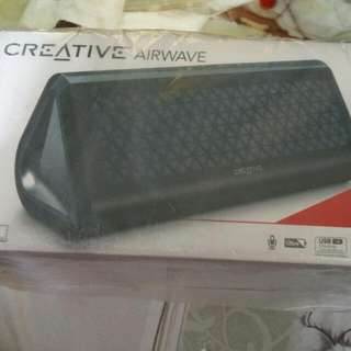 Brand New CREATIVE AIRWAVE PROTABLE(reserved )