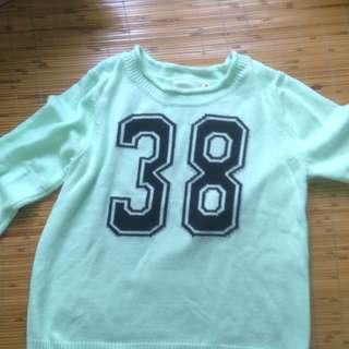 A g plus 毛衣(Tiffany 色)