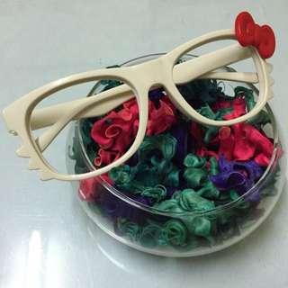 🎀 Kitty造型眼鏡👻萬聖節必備🎃