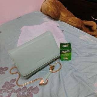 蛇鏈果綠色中小包