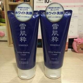 日本711限定 雪肌粹 洗面乳 80g