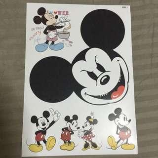s-370 sticker micky mouse