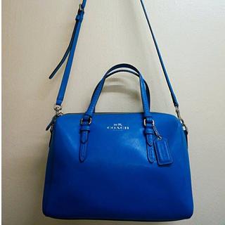 Preloved COACH Blue Sling Bag