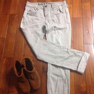 Levi's 灰色牛仔褲