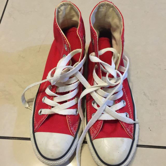 休閒鞋名牌converse