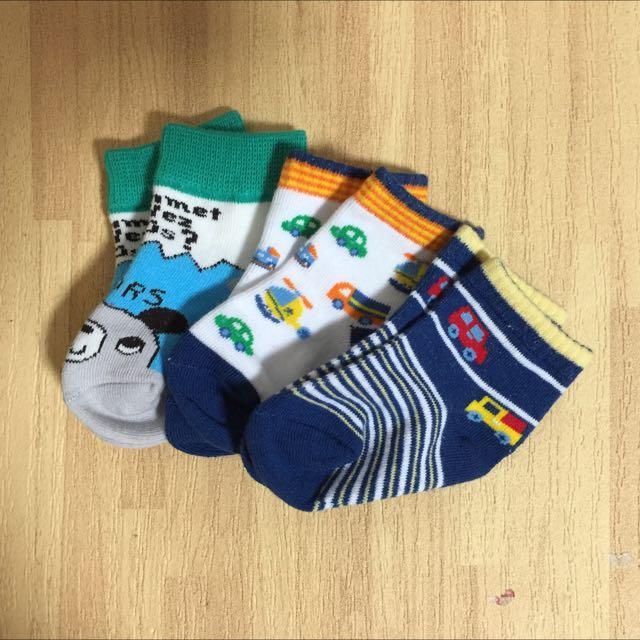 全新寶寶襪