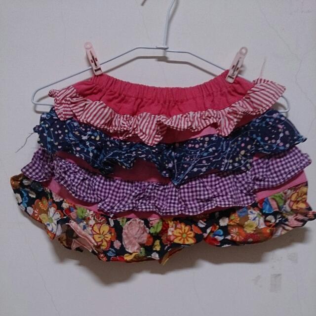 俏麗時尚南洋風 條紋 點點 格子 花 短裙