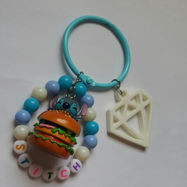 史迪奇 Stitch 手作吊飾/鑰匙圈