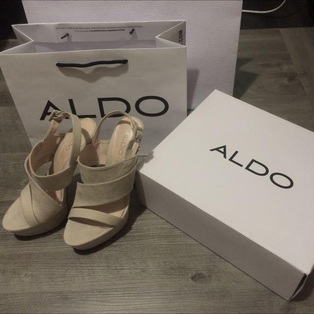 ALDO 麂皮高跟鞋