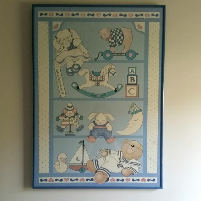 Baby Poster - Framed