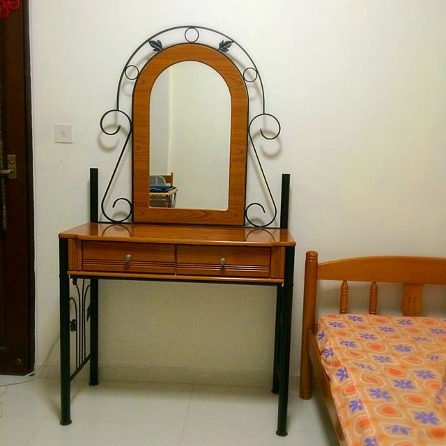 Dresser with Mirror  (PRICE REDUCED)