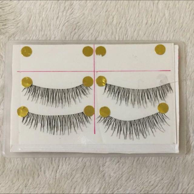 Handmade Thin False Eyelashes