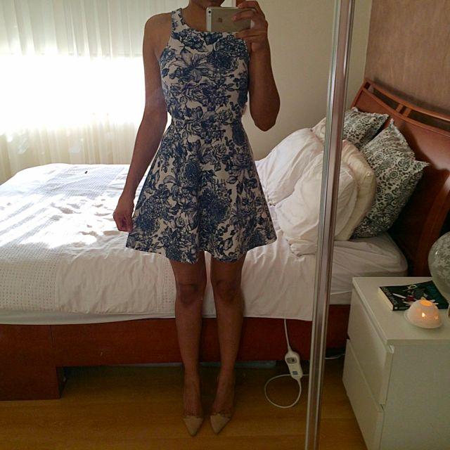(PENDING) H&M Floral Skater Dress
