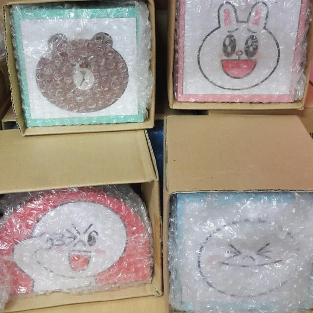 LINE置物盒&面紙盒