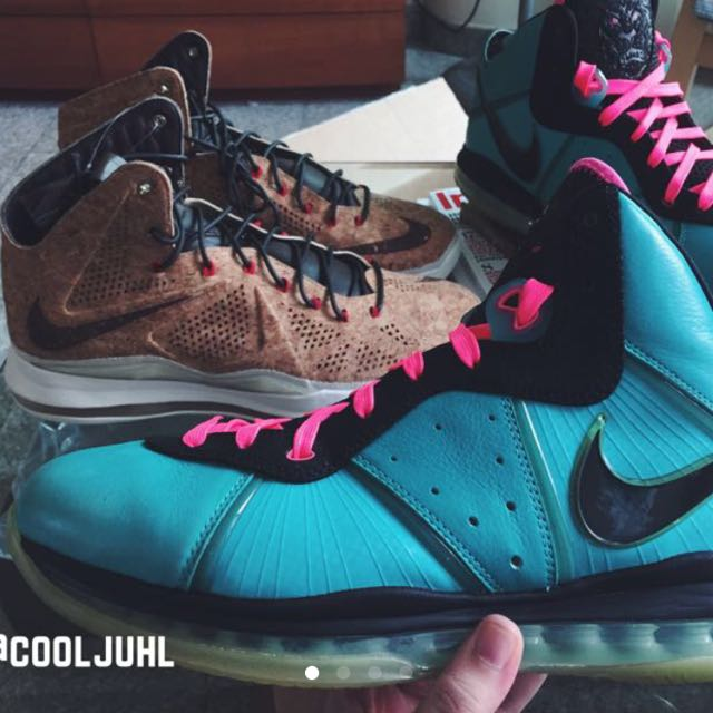 b3934ac90 Nike Lebron 8 South Beach Sz11.5 VNDS