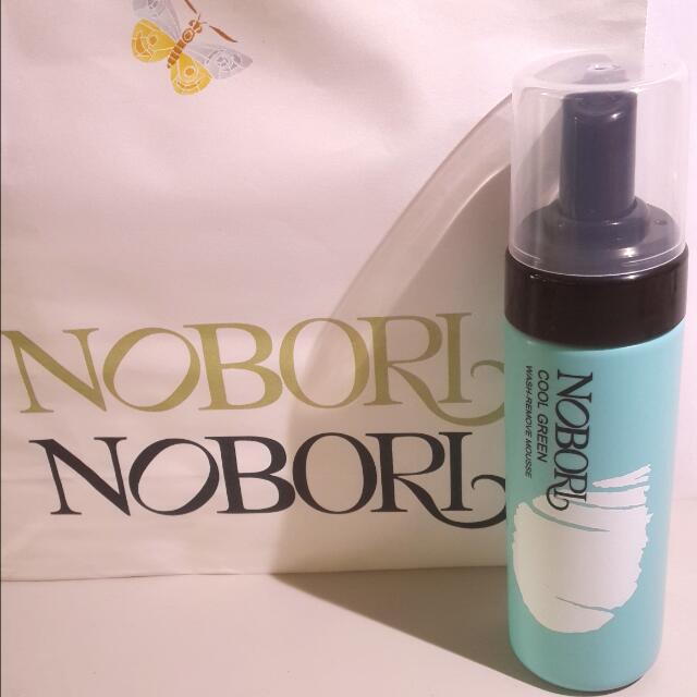 (全新)Nobori綠涼洗顏卸洗慕斯