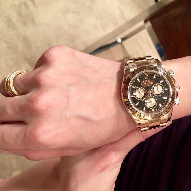 Rolex Daytona Rose Gold Luxury On Carousell