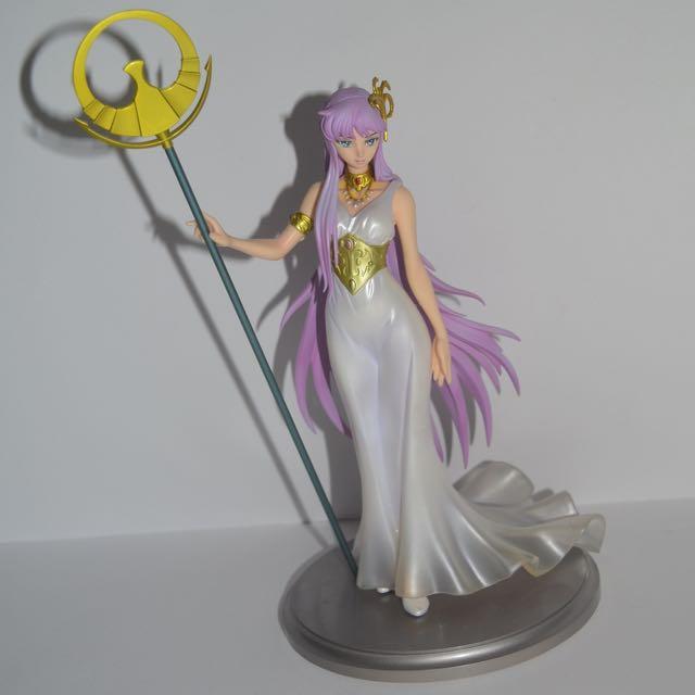 Used Excellent Model Saint Seiya Athena Saori Kido Figure MegaHouse
