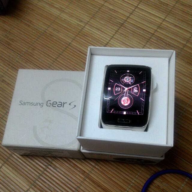 Samsung Gear S  / 白色