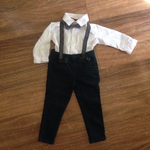 Size 1 Boys Peter Morrissey Outfit
