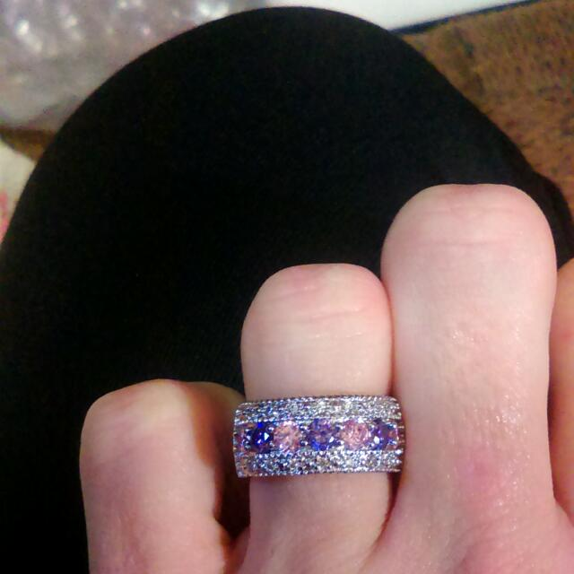 Sterling silver Cz Beautiful Ring