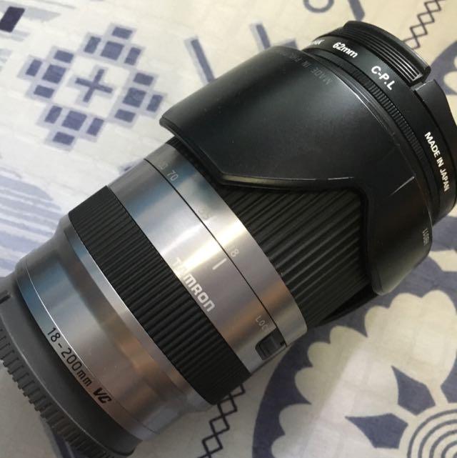 Tamron 18-200 F3.5-6.3 DI III VC B011 Lens