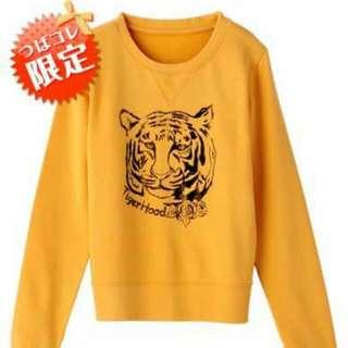 (徵收)益若翼設計品牌 黃色老虎衫