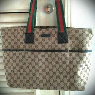 Gucci Inspired Tote Bag