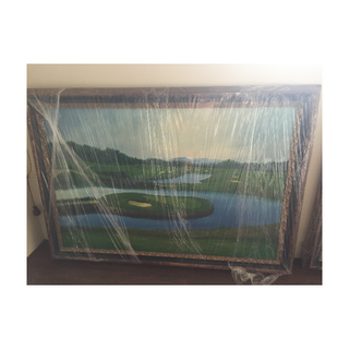 Canvas OIl Paintings of Golf Course