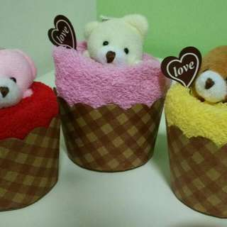 Christmas - Only $7 for 3 Bear Cake Towels! *Last 3 Pieces*