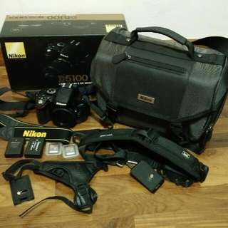 (Reserved) Nikon D5100 Body & Accessories