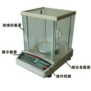( 世界電子秤 ) HD 高精度 電子分析天平 1000 公克 - 0.01公克 ~ 中、彰、投地區留資料就可享有免費送貨上門服務喔!!