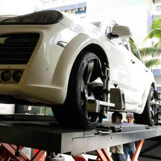 4 Wheels Alignment (At Special Promotion! !!!)