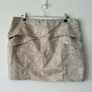 Sportsgirl Classic Gold Skirt