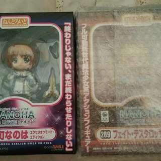 Nendoroid 289 And 263 Nanoha